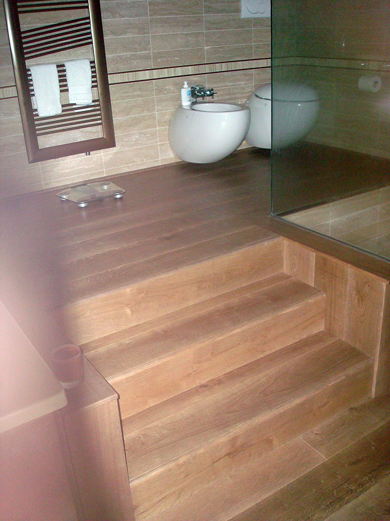 Falegnameria riganti bergamo mobili su misura treviglio - Arredo bagno in legno ...