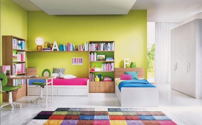 Camere e camerette per bambini su misura falegnameria for 4 piani di camera da letto a due piani