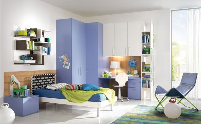 Camere e camerette per bambini su misura falegnameria - Camerette per bambini bergamo ...