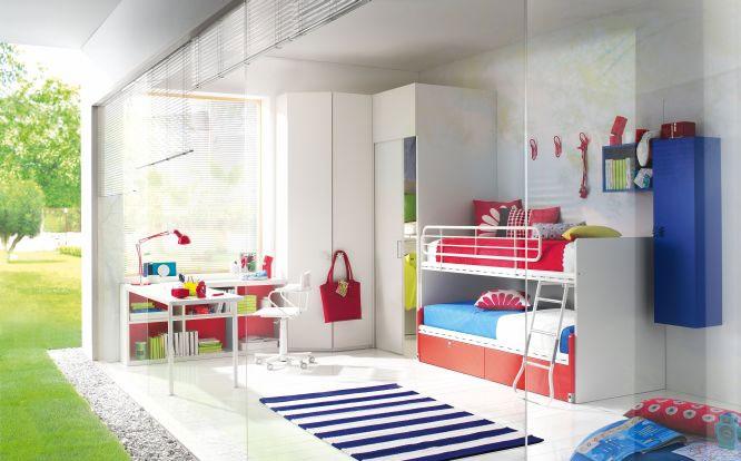 Camere e camerette per bambini su misura falegnameria for Arredamenti treviglio
